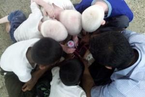 Nicholas and kids.