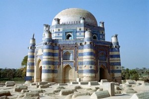 Shrine of Bibi Jawindi, Uch Sharif, Pakistan
