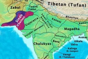 The historical Sindh region (700 BC)